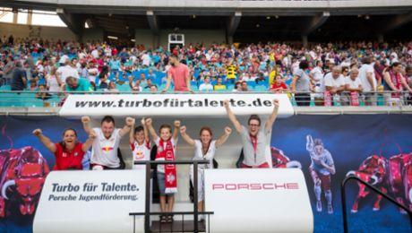 RB Leipzig und Porsche verlängern Partnerschaft