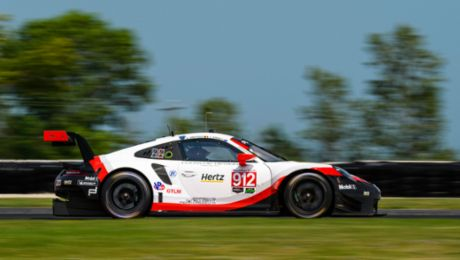 IMSA on the Road America: Victory in the GTD class