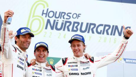 Porsche repeats last year's victory