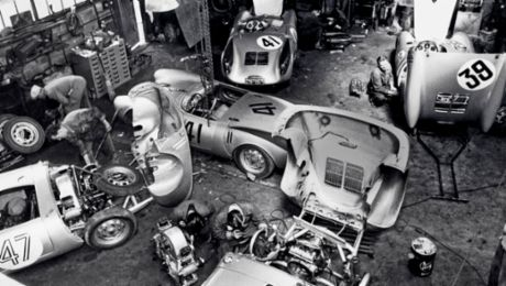 Porsche Legend in Le Mans begins in a village garage