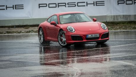 Porsche Driving Experience for golf players