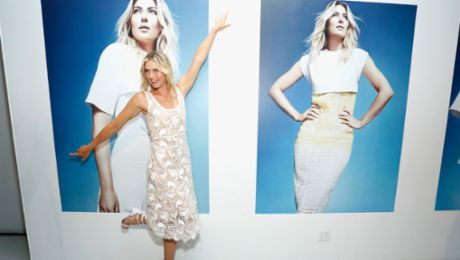 Sharapova teams up for a good cause