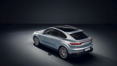 Now available to order: new Cayenne S Coupé