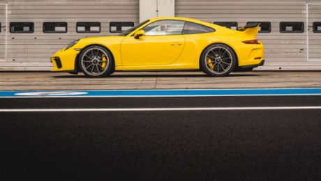7 minutes, 12.7 seconds: The 911 GT3 sets a new best time