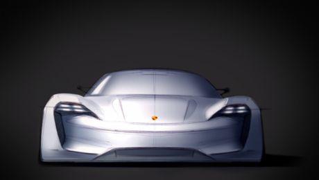 Mission E: Porsche design of the future