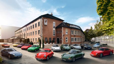 Anti-theft protection for Porsche classic vehicles
