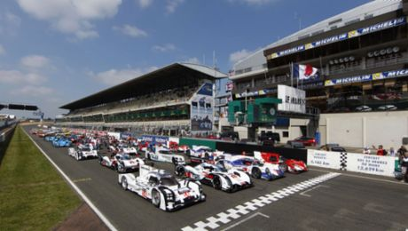Le Mans: vor dem Start