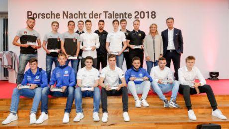 """""""Nacht der Talente"""": Porsche würdigt Sportnachwuchs"""