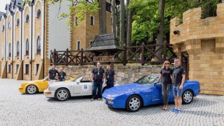 """Porsche startet bei der """"Sachsen Classic"""" 2018"""