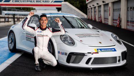 Jaxon Evans und Julien Andlauer sind die Porsche-Junioren 2019