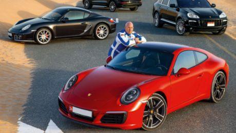 Mit Porsche den Gesetzen der Schwerkraft trotzen