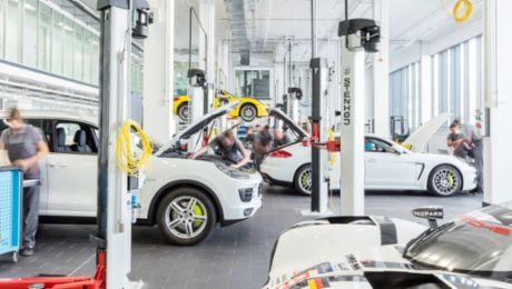 Spannende Einblicke in die Porsche-Welt