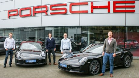 Porsche invests in start-up Evopark
