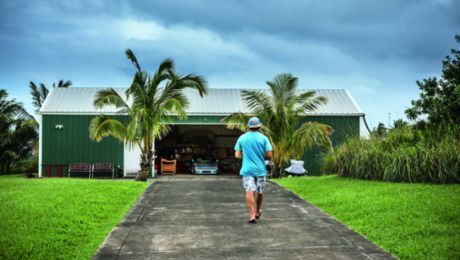 The Garage of Surf-Star Robby Naish