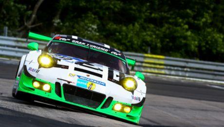 Porsche 911 GT3 R in Asien am Start