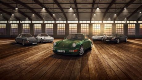 Porsche bei der Techno Classica 2018