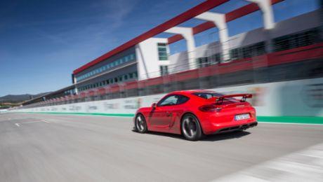 Mit dem Cayman GT4 auf die Rundstrecke