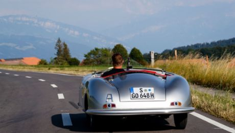 "356 ""No. 1"" Roadster: the ""Number 1"" lives on"