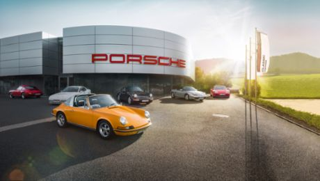 First Porsche centre for classic cars