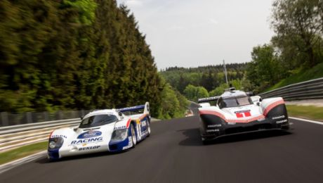 919 Tribute Tour at the Nordschleife
