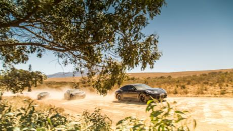 The new Panamera put through its paces