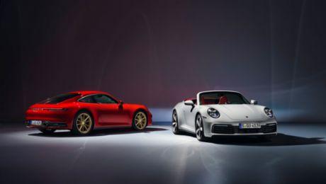 全新保时捷 911 Carrera 与 911 Carrera Cabriolet 启动全球预售