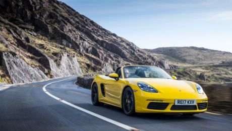 Ring spin with the 718 Boxster S