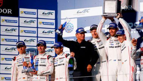 Two Porsche victories in Fuji