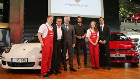 Porsche supports RB Leipzig