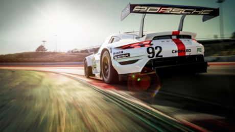 WEC: The new Porsche 911 RSR is ready to tackle the WEC season