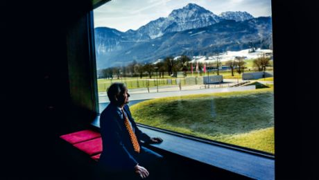 The exhibition of Hans-Peter Porsche