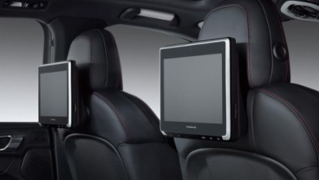 New Porsche Rear Seat Entertainment