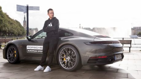 Schauffele's special premiere at the Porsche European Open