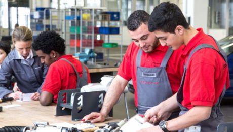 Porsche creates prospects for refugees