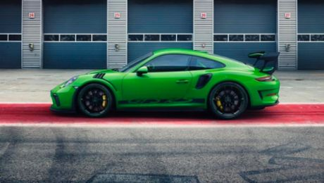 New manufacturing methods of the new Porsche 911 GT3 RS
