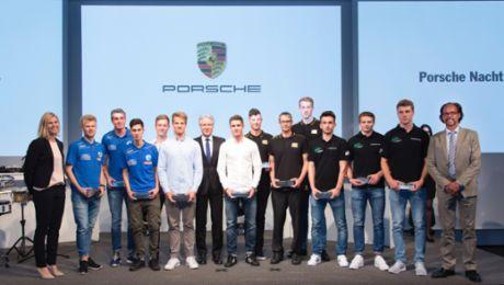 """Porsche feiert die """"Nacht der Talente"""""""