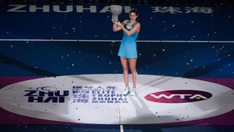 Julia Görges gewinnt WTA Elite Trophy