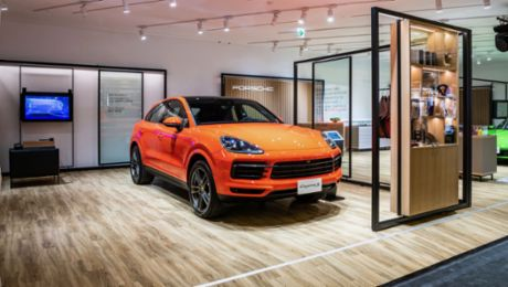 Porsche launches sales pop-up as flexible sales format