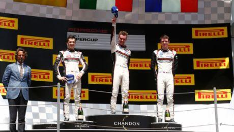 Victory for Porsche Junior Cairoli