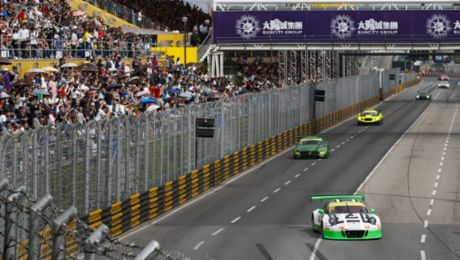 Macau: Best Porsche 911 GT3 R second