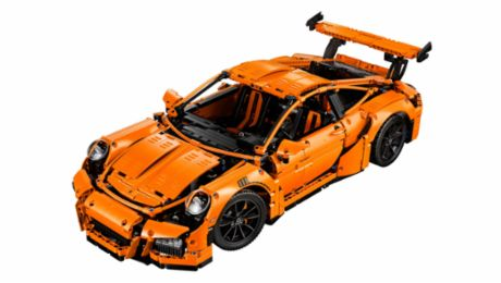 Porsche-Ingenieurskunst als LEGO Technic-Modell