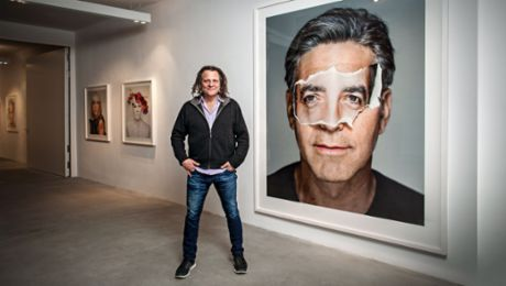 Porsche enters into a collaboration with photographer Martin Schoeller