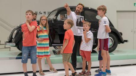 Porsche 4Kids: Herbstferien mit Führungen und Workshop