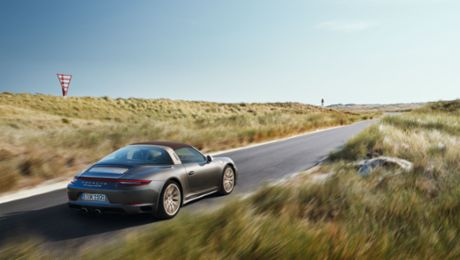 Die 911 Targa 4 GTS Exclusive Manufaktur Edition