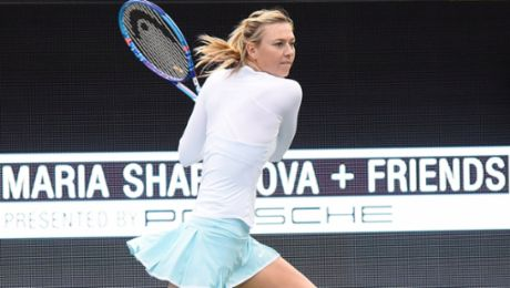 Hollywood-Flair bei Sharapova-Event