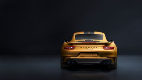限量500台! 全球最 Unique 的 911 Turbo S Exclusive Series 开始预订