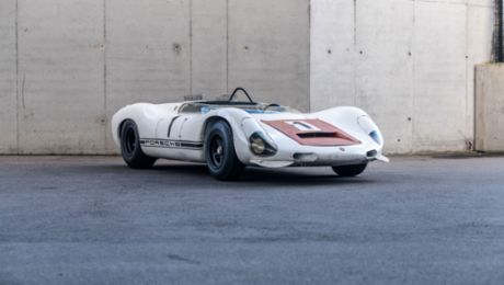 Porsche Museum: Preserving the 910/8 Bergspyder