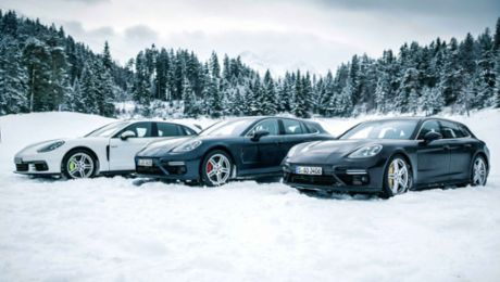 Porsche Panamera: The unexpected winter sportsmen