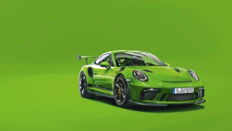 The Porsche 911 GT3 RS – Conceiving Color