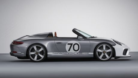 The Porsche 911 Speedster Concept: open-top and pure